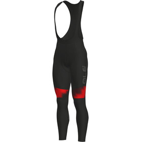 Alé Cycling Solid Pulse Bibtights Men black-bordeaux-red